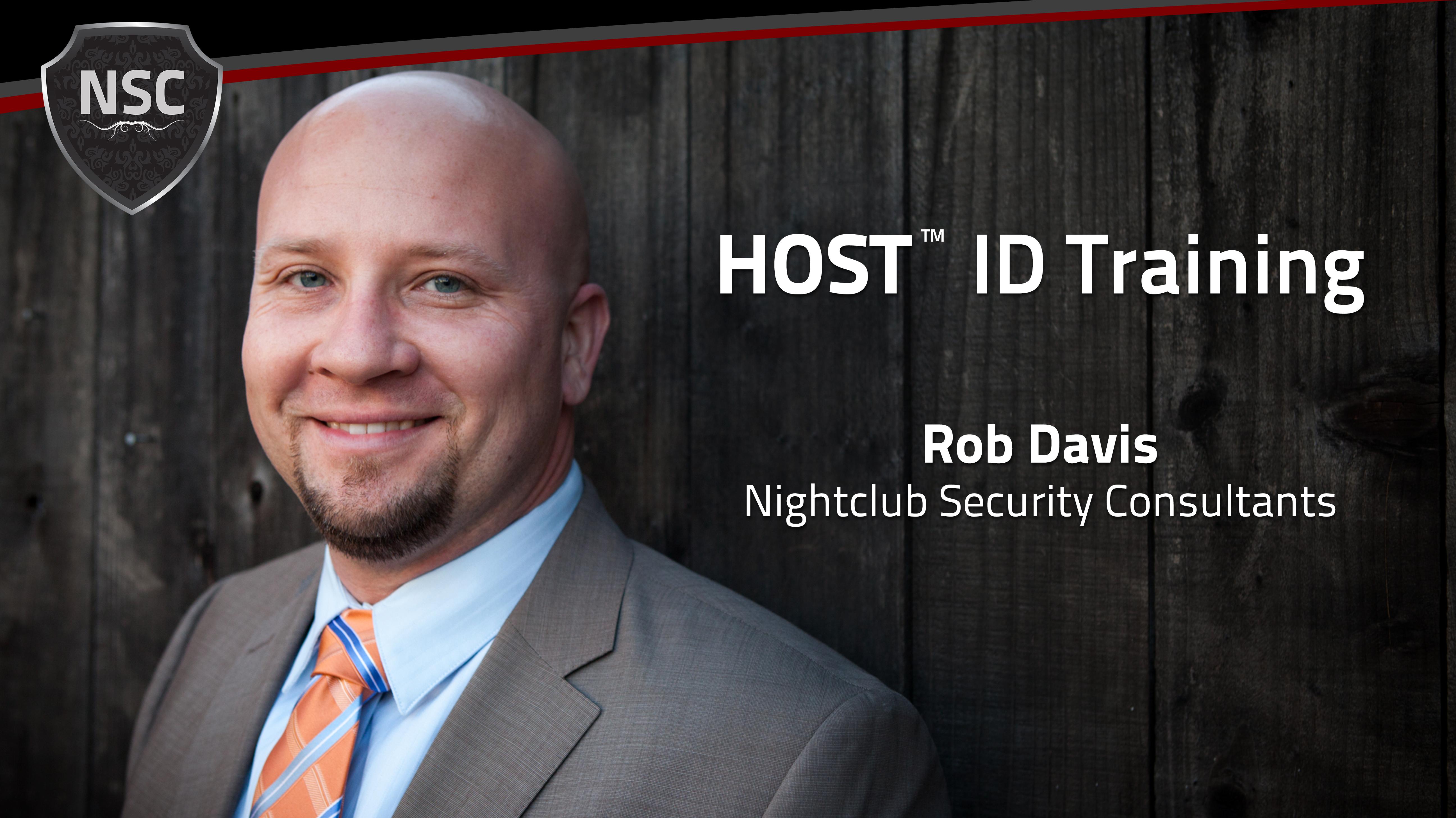 HOST ID Training , Nightclub Security Consultants